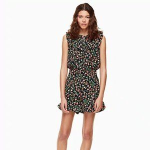 Kate Spade Mini Bloom Romper Floral Ruffle Shorts